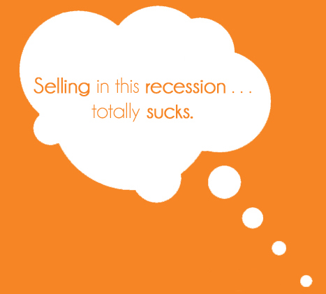 selling in a recession sucks