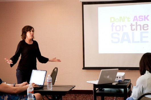 saundra hadley get real sales workshop austin texas